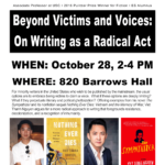 VIET THANH NGUYEN: Beyond Victims and Voices: On Writing as a Radical Act