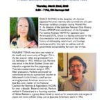 The Redress and Reparations Movement: A Guest Lecture by Grace Shimizu and Marlene Tonai